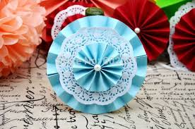 wedding paper fans 30cm wedding tissue paper umbrella paper flower fan paper fan