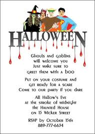 halloween costume party invitation wordings u2013 fun for christmas
