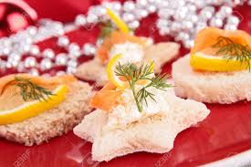 canap toast assortment of canapes toast stock photo picture and royalty free