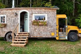 our cora bean tiny house extravaganza house bus tour