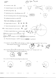 geometry circles review worksheet 28 templates 14 best images