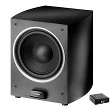 wireless speaker home theater paradigm pdr w100 powered subwoofer