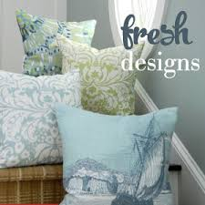 Seashore Decorative Pillows Nautical Pillows Beach Themed Pillows Coastal Decor Pillows