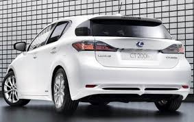 lexus hatchback 2011 lexus ct 200h information and photos zombiedrive