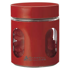 savannah red kitchen canister set and platter home design 2017