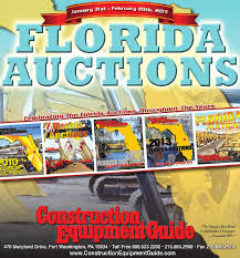 florida auctions 2015 by construction equipment guide issuu