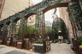 nomo soho hotel garden entrance crosby street picture of nomo