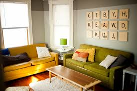 walls decoration accessories wonderful living room wall decoration with yellow