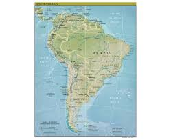 Chile South America Map by Maps Of South America And South American Countries Political