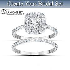 bridal ring set womens ring a like no other personalized bridal ring set