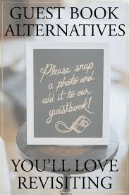 alternatives to wedding guest book 5 creative wedding guest book alternatives you ll revisiting