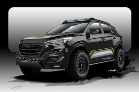 hyundai tucson 2016 off road centric 2016 hyundai tucson to debut at sema 2015