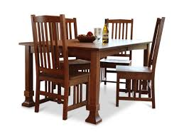 dining table mission dining table home design ideas