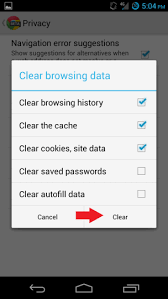 how to delete search history on android cover your tracks learn how to delete search history on android