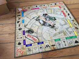 Monopoly Map Custom Harry Potter Monopoly Board On Behance