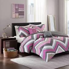Purple Comforter Set Bedding Twin by Elise Comforter Set In Pink Grey Bedbathandbeyond Com Home