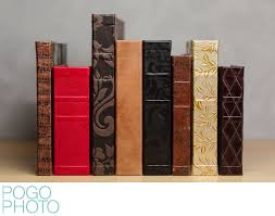 leather bound photo albums wedding albums books designed by pogo photo
