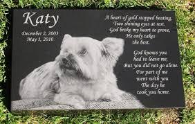 pet memorials engraved photographic granite pet memorial with 5 polished edges