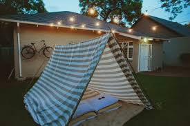 Tent In Backyard by Three Great Staycation Ideas For This Weekend Tyre Realty Group