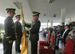 History Of The Filipino Flag Major Gen Paul Atal Gives His Remarks As The Acting Commander For
