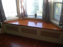 under window seat storage bay window seat bench with cushions and wall sconce built in