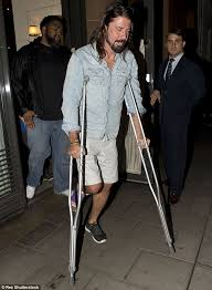 dave grohl heads out amid reports foo fighters u0027will headline