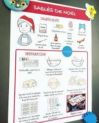 cuisiner avec ses enfants recettes illustrées à imprimer pour cuisiner avec ses enfants