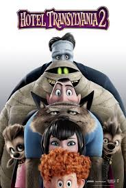a new hotel transylvania 2 poster features a monstrous lineup