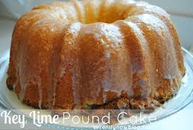 serenity now key lime pound cake