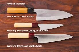 Most Expensive Kitchen Knives by The Chefsteps Kitchen Team Shares Their Favorite Knives Chefsteps