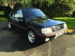 peugeot 205 peugeot 205 gti i drove 500 yards and the battery died workshop