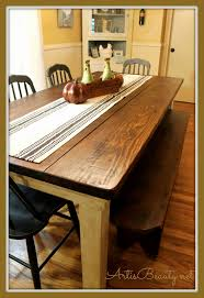 How To Build A Farmhouse Table Art Is Beauty How To Build Your Own Farmhouse Table For Under 100