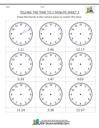 clock reading worksheets free worksheets library download and