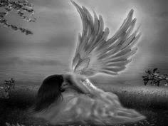 praying sad angel tattoo on half sleeve tattoos pinterest