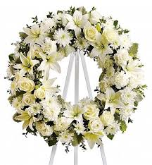 funeral flowers delivery serenity wreath funeral flower delivery in fort worth tx fort