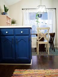 blue chalk paint kitchen cabinets painting kitchen cabinets the about chalk paint