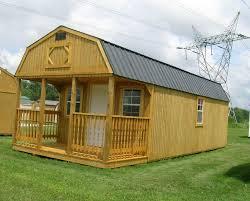 Portable Garages Mennonite Portable Garage Shed Cabin Barn Tiny House No Credit