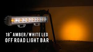 Led Light Bar Driving Lights by Amber White Led Off Road Light Bar 18
