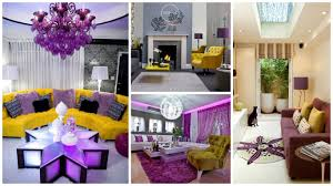 Lavender Living Room 15 Purple And Yellow Living Room Will Surprise With It U0027s Beauty