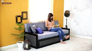 Indian Wooden Furniture Sofa Book Rack Buy Craig Book Rack Online In India Wooden Street