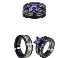 titanium wedding ring sets for him and titanium engagement and wedding ring sets ebay