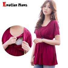 cheap maternity clothes emotion solid maternity clothes nursing top