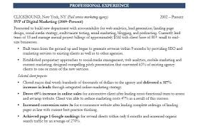 Digital Content Manager Resume How To Write A Marketing Resume Hiring Managers Will Notice Free