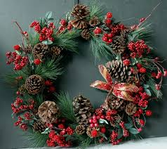 Pre Lit Decorated Christmas Wreaths by Decoration Ideas Endearing Image Of Accessories For Christmas