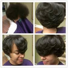 nouritress salon natural hair thermal press service featuring