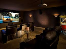 movie theater in home home designs home theater design showing brown wooden table