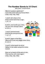 number bonds to 10 chant by oceanic dolphin teaching resources tes