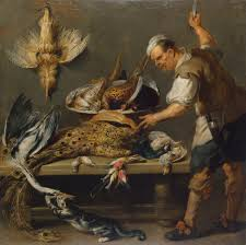 Kitchen Table File Frans Snyders Cook At A Kitchen Table With Dead Game Jpg
