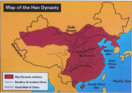 Map Of China Rivers by Chinese History For Dummies Part 4 The Han Dynasty 206 Bc
