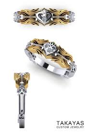 anime wedding ring the kingdom hearts wedding ring collection nerdy jewelry